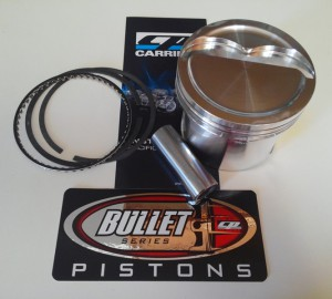 Buick 455 Pistons from CP - Bullet
