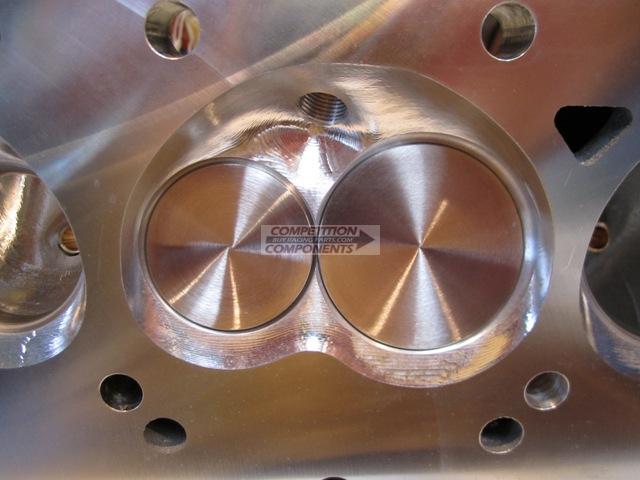CNC Ported Edelbrock Victor Heads, BB Mopar - Flat Tappet