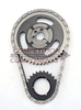 HI-TECH ROLLR TIMING CHAIN SET, SMALL BLOCK CHEVY -.010