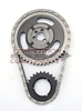 HI-TECH ROLLR TIMING CHAIN SET, SMALL BLOCK CHEVY -.005